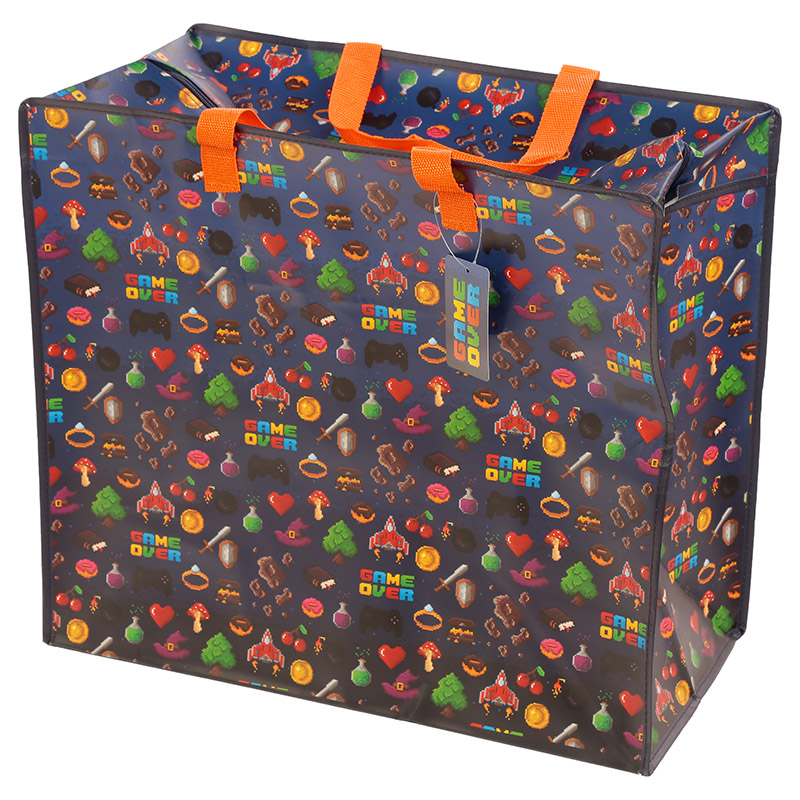 Game Over Laundry Storage Bag