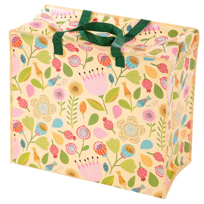 Autumn Floral Design Laundry Storage Bag