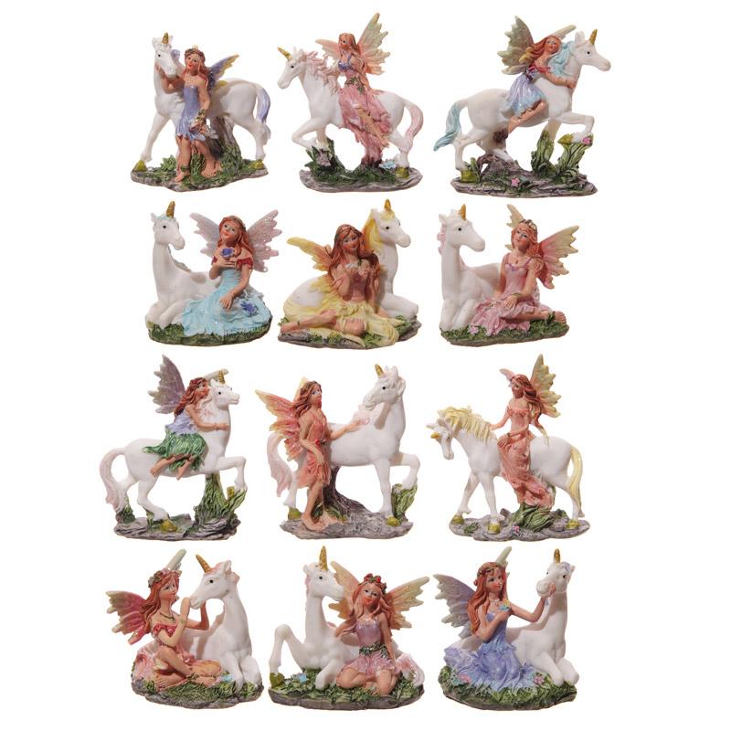 Fairy And Unicorn Figurines